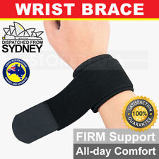 Adjustable Sports Wristband Protector Wrist Brace Wrap Support Gym Tennis Strap