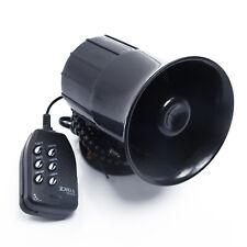 Auto Warnung Alarm Polizei Feuer Sirene Horn Lautsprecher Mikrofon 6Sound Laut