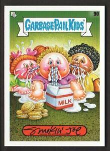 2020 GPK 35th Anniversary Artist AUTOGRAPH Trading Card #90 Smokin' Joe 02/50