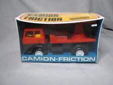 Ah119 sitap hanomag henschel truck friction plastic firemen rf 512712 france