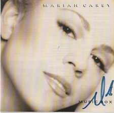 """Mariah Carey Autogramm signed CD Booklet """"Music Box"""""""