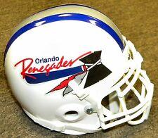 Orlando Renegades USFL United States Football League Authentic Mini Helmet New