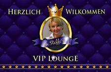 Fußmatte VIP Lounge*Türmatte*Bild*Namen*Foto*Portrait*individuell*Fußabstreifer