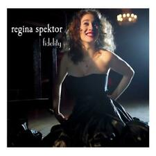 "Regina Spektor Fidelity 7"" vinyl single record UK W737 WARNER 2007"