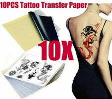 10 Sheets A4 TATTOO PAPER THERMAL CARBON STENCIL PAPER Hectograph Transfer Paper