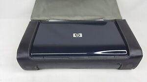 HP OfficeJet H470 Mobile USB Printer With Case And USB No Power Supply