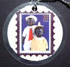 Alabama Baby, Martha Chase Stamp Key Tag, Lamination, American Dolls, Sc 3151a