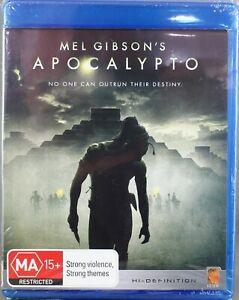 """APOCALYPTO (2007: BLU-RAY) BRAND NEW / SEALED """"REGION B"""""""
