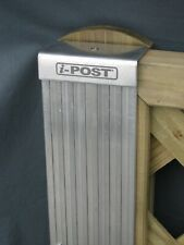 BUFFALOPOSTS in ALUMINIUM FOR EXTRA LONGEVITY.(for 6ft x 6ft panels only).
