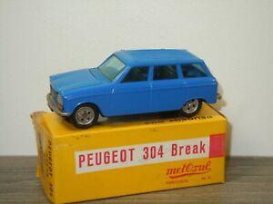 Peugeot 304 Break - Metosul 49 Portugal in Box *49156