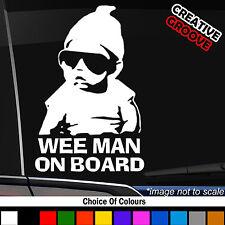 Little dude man On Board Baby Child Window Bumper Car Sign Sticker 456//460