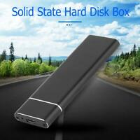 USB3.1 to M.2 NGFF SSD Mobile Hard Disk Box Adapter Card External Enclosure Case