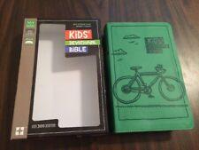 NIRV Kids Devotional Bible - $34.99 Retail - Green Duotone