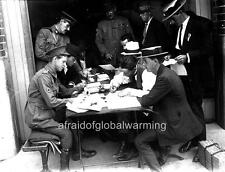 Photo. WW1. Australia.  Men Signing Up To Fight In The Army