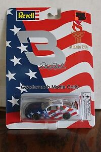 1996 Revell 1/64 Dale Earnhardt #3 GM Goodwrench/Olympics Chevy Monte Carlo