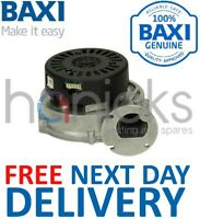 Baxi System 24HE, 28HE IE Fan Assembly 5121447 5114684 Genuine Part