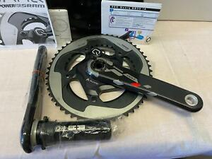 SRAM RED QUARQ 175mm CRANKS POWER BB30 PF30meter 130bcd