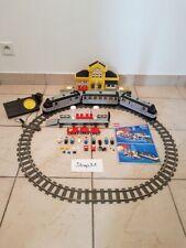 LEGO Train 9V 4558 Metroliner et la gare 4554