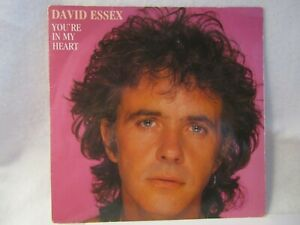 DAVID ESSEX....YOU'RE IN MY HEART.....1983.......VG+ CON