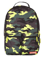 SPRAYGROUND NEON CAMO CARGO BACKPACK - Limited Edition - Authentic - New