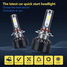 Pair H7 LED Universal Auto Kit Conversion 6000K Weiß Birne Scheinwerfer Leuchte