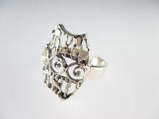 Art Deco Ring 800 Silber durchbrochen gearbeitet Vintage silver ring