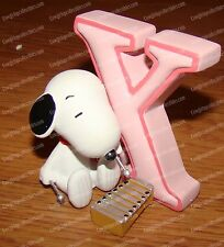 Letter X (Peanuts Alphabet by Wesland, 8594) Snoopy Playing the Xylophone