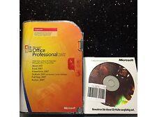 Microsoft Office Professional 2007, Retail, Deutsch mit MwSt Rechnung
