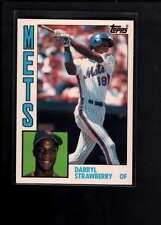 1984 TOPPS GLOSSY #182 DARRYL STRAWBERRY ROOKIE  NM F3570