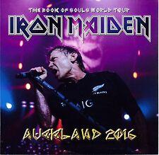 IRON MAIDEN - 'AUCKLAND 2016' NEW ZEALAND LIVE 2-DISC SET