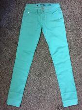 Celebrity Pink Jeans Dare You Skinny Stretch Light Green Size 5