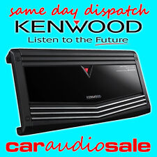 KENWOOD KAC-9106D 2000 WATT MONO BLOCK CHANNEL CLASS-D POWER SUBWOOFER AMPLIFIER