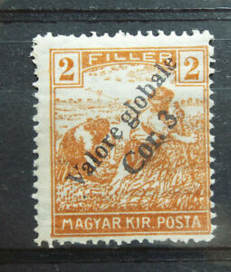 Local Hungary 1918-20 Fiume Overprint private Valore global MNH