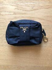 Prada Mini Borsa- Pochette In Black Nylon with Gold Accessories Never Used