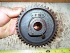 Old GILSON Hit Miss Gas Engine Motor Cam Gear Steam Tractor Magneto Oiler WOW!