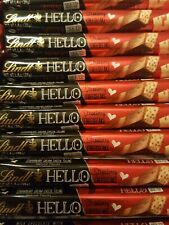 10 x LINDT HELLO CHOCOLATE STRAWBERRY CHEESECAKE MANUFACTURED IN GERMANY