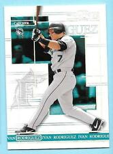 2004 Donruss Timelines Press Proof Ivan Rodriguez 45/100 Marlins