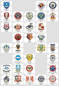 Metal Pin England Football Clubs European Soccer PART 3