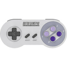 8Bitdo SNES30 Bluetooth Wireless Gaming Controller for Mac, PC, iOS, Android
