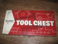 Vintage? GILBERT TOOL CHEST METAL BOX GOOD FOR DECOR