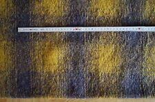 041113 Walkloden Tissu à carreaux de Loden Laine Walkstoff 1m x 1,5 m