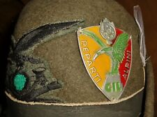 Original Ww2 Fascist Italian Gil Shield Alpini Uniform Hat Mussolini Cap Mvsn