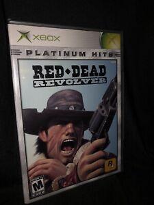 Red Dead Revolver Xbox Platinum Hits Sealed