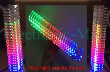 Crystal Fantasy Audio Vu Meter Spectrum Level Display Sound Led Indicator Kits
