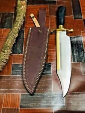 """MH Knives 18"""" 5160 Spring Steel Handmade Knife Alamo Musso Bowie MH-20"""