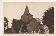 Ewhurst Church, Kennett & Evans Postcard, B142