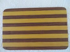 HANDCRAFTED DECORATIVE WOOD CUTTING CHOPPING BOARD
