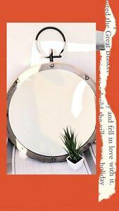Contemporary Wall Mirror Round Wall Mirror