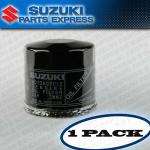 NEW 1 PACK SUZUKI OEM OIL FILTERS 16510-07J00 GSXR GSX DL VL VS SV TL BOULEVARD