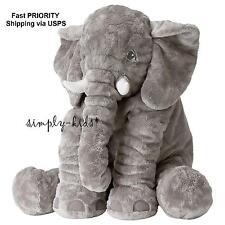 IKEA Big Elephant Jattestor Safari Animal Plush Cuddly Jumbo Stuffed Elefante